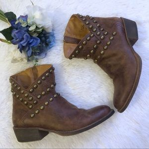 Coconut By Matisse Rodeo Studded Ankle Boots